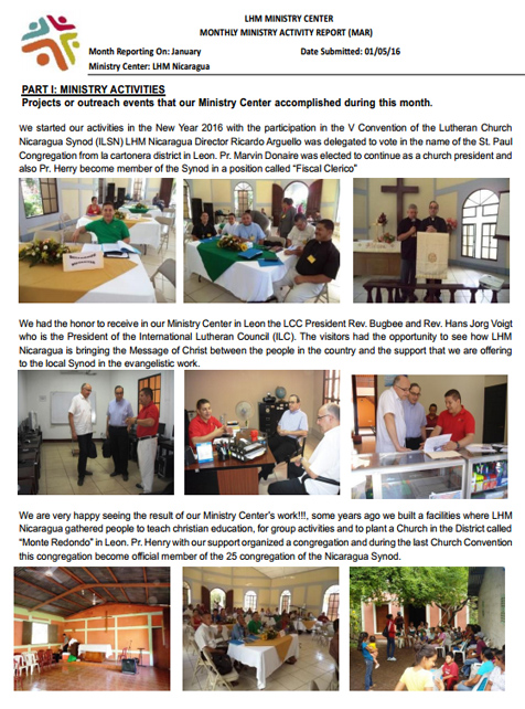 01 January Newsletter LHM 2016