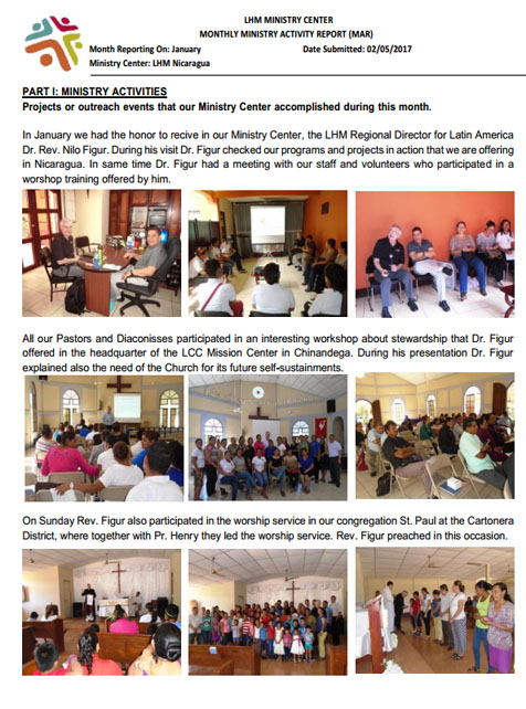 01 January Newsletter LHM 2017