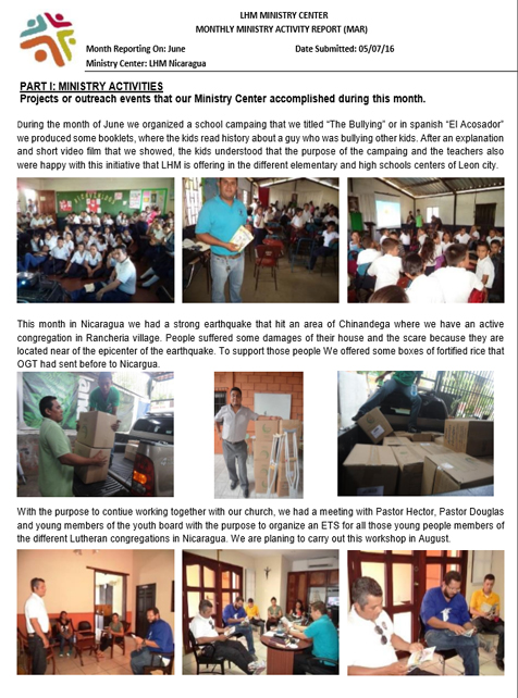 06 June Newsletter LHM 2016