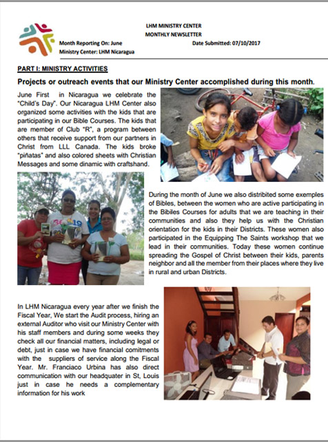 06 June Newsletter LHM 2017