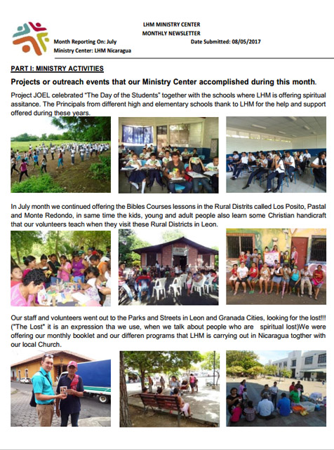 07 July Newsletter LHM 2017