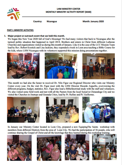 01 Newsletter January 2020
